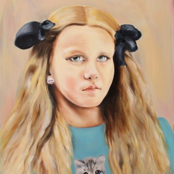 Dolores, 2016, oil on mdf-board, 60 x 48 cm