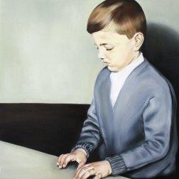 Fausto, 2016, oil on mdf-board, 60 x 48 cm