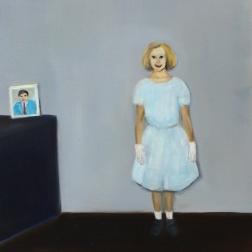 Suburban dreams, 2014, oil on mdf-board, 50 x 40 cm