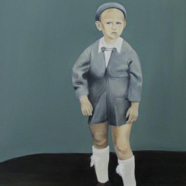 Olaf, 2014, oil on mdf-board, 60 x 50 cm