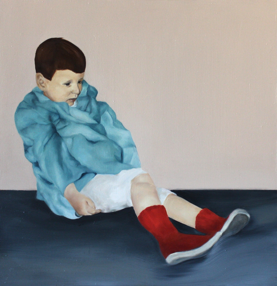 Play, 2015, oil on mdf-board57 x 55 cm