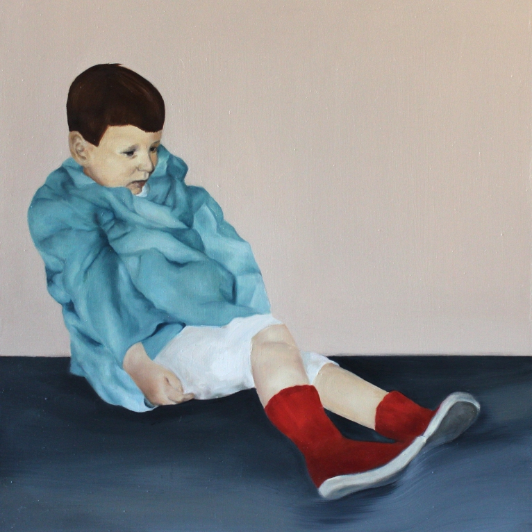 Play, 2015, oil on mdf-board57 x 55 cm