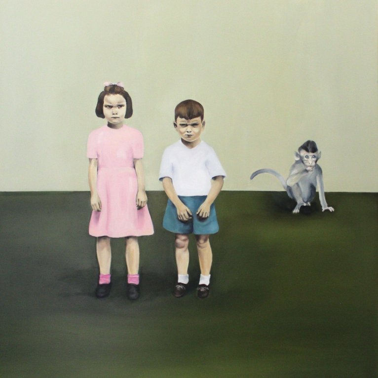 Come and play, Jimmy, 2015, oil on mdf-board, 120 x 109 cm