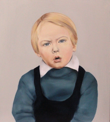 Oh brother, 2015, oil on mdf-board, 44 x 40 cm