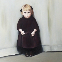 Lily, 2015, oil on mdf-board, 110 x 90 cm