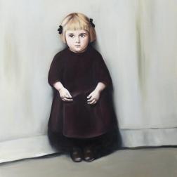 Lily, 2015, oil on mdf-board, 110 x 90 cm