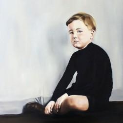 Memory of Adrian, 2015, oil on mdf-board, 110 x 90 cm