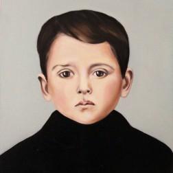 Giuseppe, 2016, oil on mdf-board, 44 x 40 cm