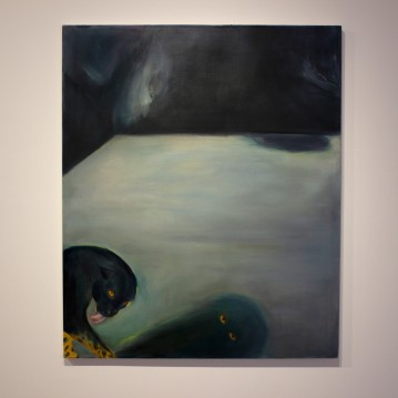 Nocturnal wandering, 2019, oil on canvas, 120cm x 100cm